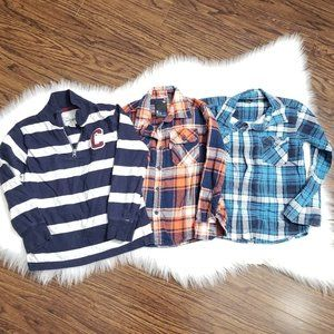 Childrens Place | Mixed Lot Long Sleeve Boys Shirt